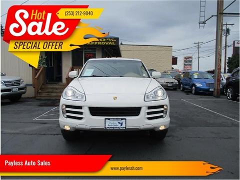 2009 Porsche Cayenne for sale in Lakewood, WA