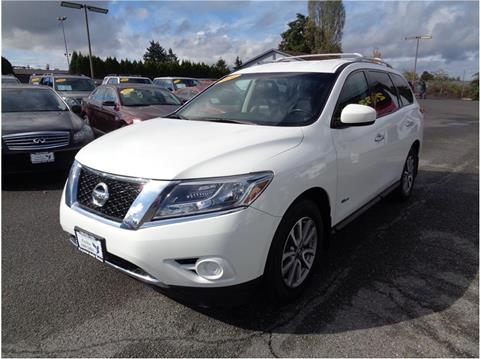 2014 Nissan Pathfinder Hybrid For Sale In Lakewood, WA
