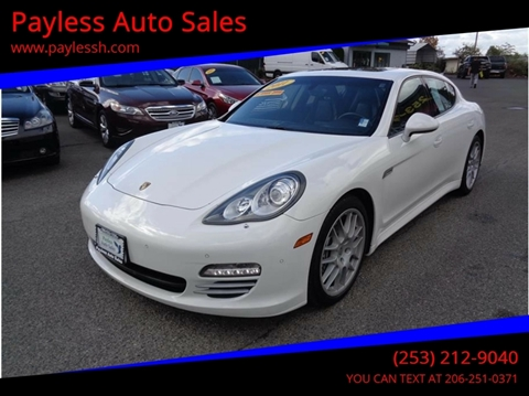 2011 Porsche Panamera for sale in Lakewood, WA