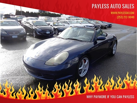 2003 Porsche Boxster for sale in Lakewood, WA