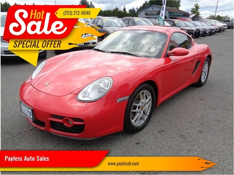 2007 Porsche Cayman for sale in Lakewood, WA