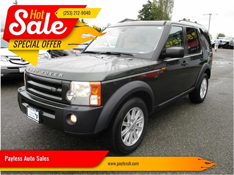 2008 Land Rover LR3 for sale in Lakewood, WA
