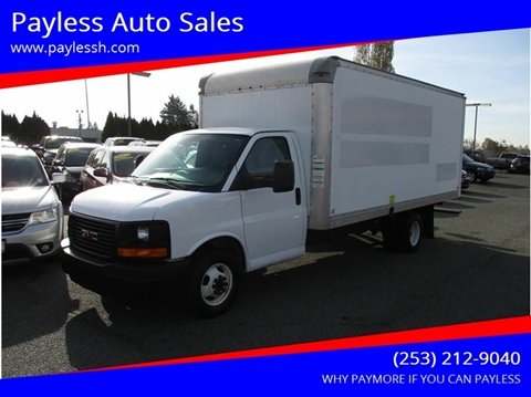 2012 GMC Savana Cutaway for sale in Lakewood, WA