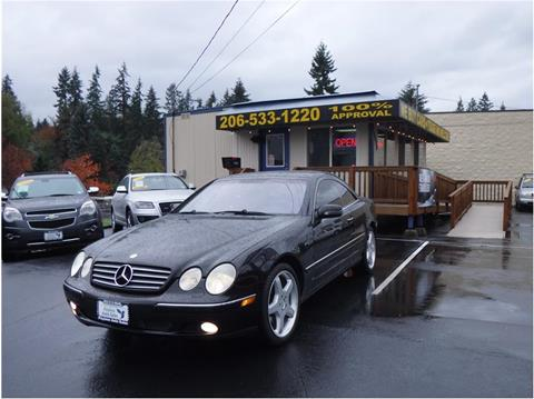 2002 Mercedes-Benz CL-Class for sale in Lakewood, WA