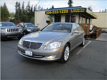2007 Mercedes-Benz S-Class for sale in Lakewood, WA
