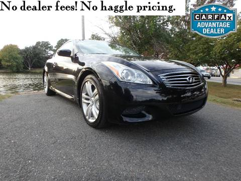 2009 Infiniti G37 Coupe for sale in Smyrna, DE