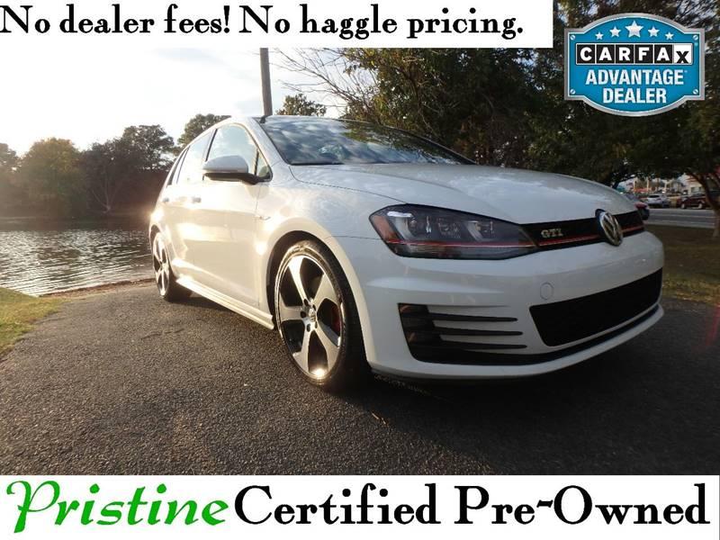 2015 Volkswagen Golf GTI for sale at Pristine Motorsports in Smyrna DE