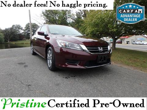 2015 Honda Accord for sale in Smyrna, DE
