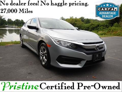 2016 Honda Civic for sale in Smyrna, DE