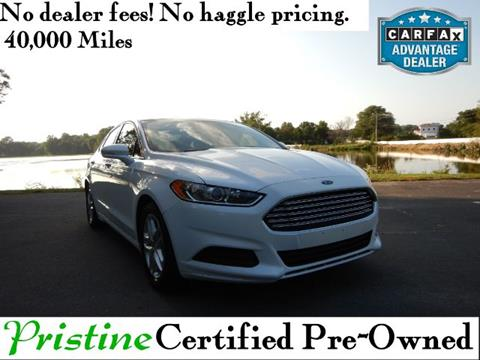 Cars For Sale In Delaware >> 2016 Ford Fusion For Sale In Smyrna De