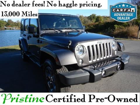 2016 Jeep Wrangler Unlimited for sale in Smyrna, DE