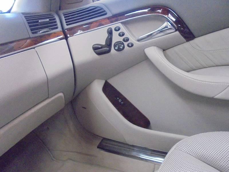 2004 Mercedes-Benz S-Class S 500 4dr Sedan - San Antonio TX