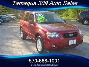 2007 Ford Escape for sale in Tamaqua, PA