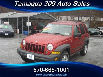 2007 Jeep Liberty for sale in Tamaqua, PA
