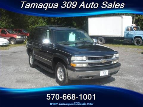 2004 Chevrolet Tahoe for sale in Tamaqua, PA
