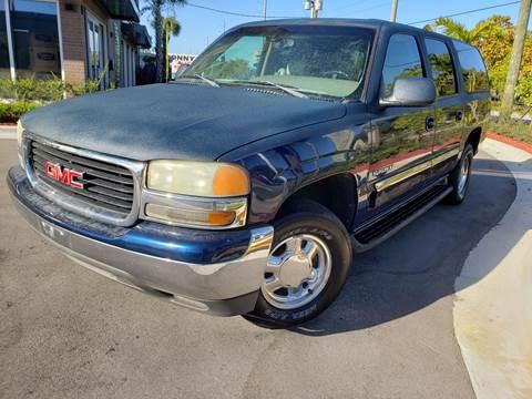 2003 GMC Yukon XL for sale in Hollywood, FL