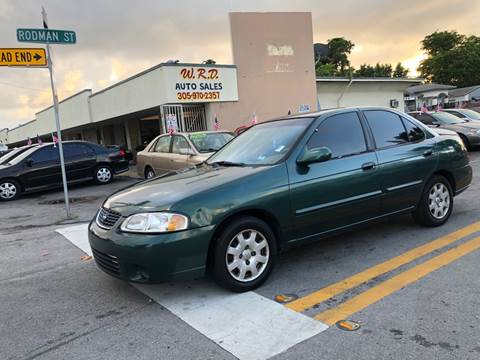 2000 Nissan Sentra for sale in Hollywood, FL