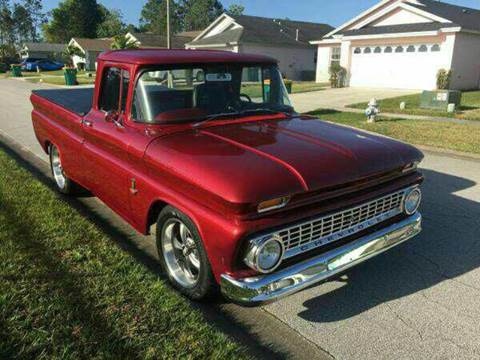 1963 Chevrolet C/K 10 Series for sale at Diversified Auto Sales of Orlando, Inc. in Orlando FL