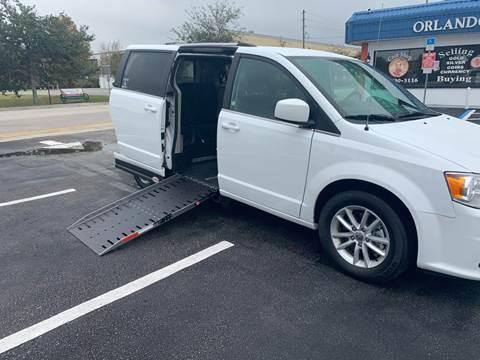 2019 Dodge Grand Caravan SXT for sale at Diversified Auto Sales of Orlando, Inc. in Orlando FL