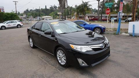 2012 Toyota Camry Hybrid for sale at Champion Auto Group in Spring Valley CA