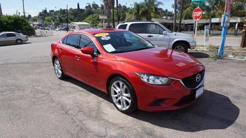 2014 Mazda MAZDA6 for sale at Champion Auto Group in Spring Valley CA
