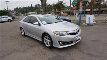 2012 Toyota Camry for sale at Champion Auto Group in Spring Valley CA