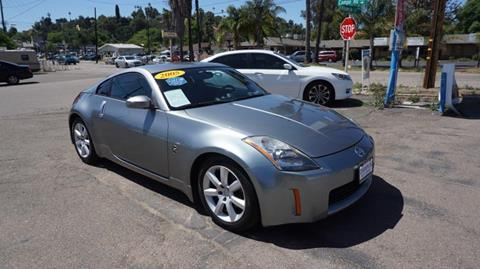 2005 Nissan 350Z for sale at Champion Auto Group in Spring Valley CA