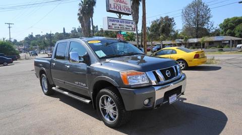 2008 Nissan Titan for sale at Champion Auto Group in Spring Valley CA