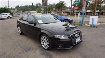 2011 Audi A4 for sale at Champion Auto Group in Spring Valley CA