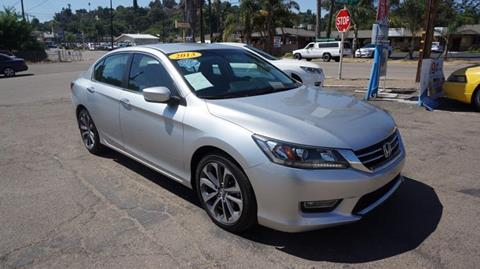 2013 Honda Accord for sale at Champion Auto Group in Spring Valley CA
