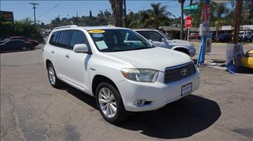 2009 Toyota Highlander Hybrid for sale at Champion Auto Group in Spring Valley CA