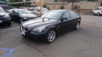 2007 BMW 5 Series for sale at Champion Auto Group in Spring Valley CA