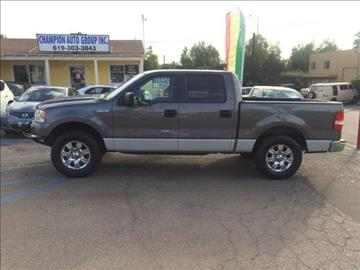 2005 Ford F-150 for sale at Champion Auto Group in Spring Valley CA