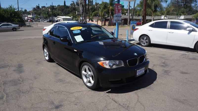 2010 bmw 1 series 128i in spring valley ca champion auto group rh championautosd com BMW 135I Coupe BMW 2011 135 Owner's Manual