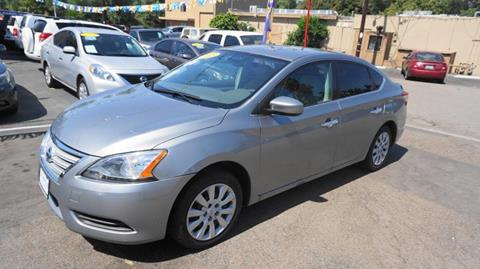 2013 Nissan Sentra for sale at Champion Auto Group in Spring Valley CA