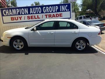 2007 Ford Fusion for sale at Champion Auto Group in Spring Valley CA