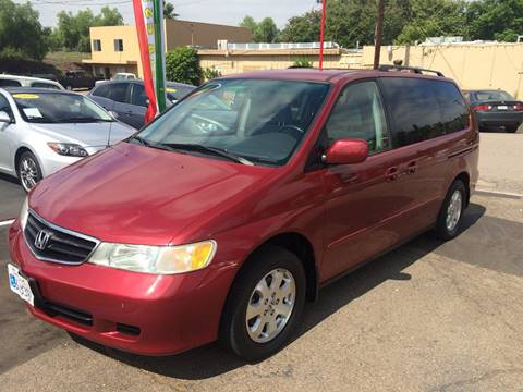 2003 Honda Odyssey for sale at Champion Auto Group in Spring Valley CA