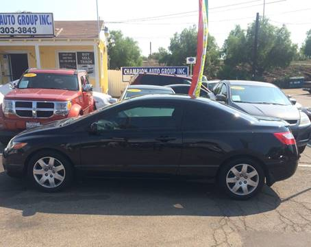 2008 Honda Civic for sale at Champion Auto Group in Spring Valley CA