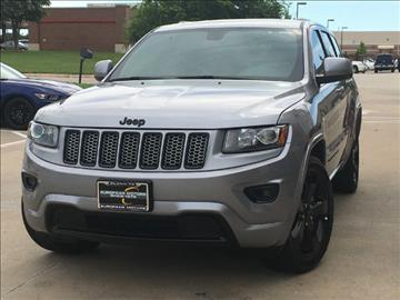 2015 Jeep Grand Cherokee for sale in Plano, TX