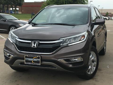 2015 Honda CR-V for sale in Plano, TX