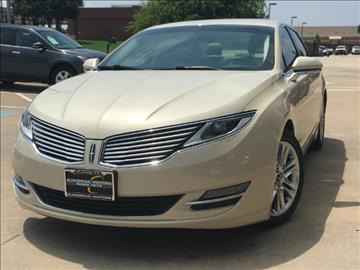 2014 Lincoln MKZ for sale in Plano, TX
