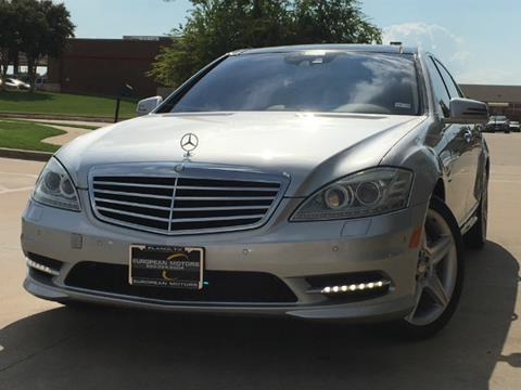 2010 Mercedes-Benz S-Class for sale in Plano, TX