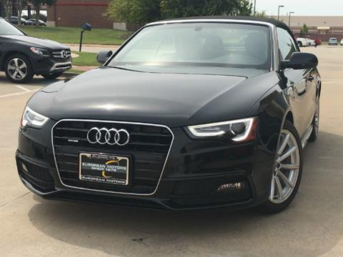 2016 Audi A5 for sale in Plano, TX