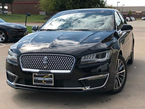 2017 Lincoln MKZ for sale in Plano, TX