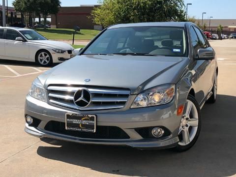 2010 Mercedes-Benz C-Class for sale in Plano, TX