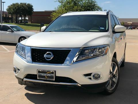 2013 Nissan Pathfinder for sale in Plano, TX