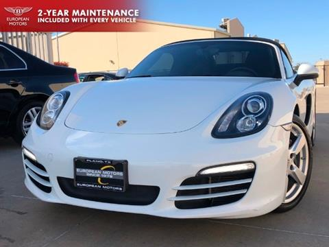 2014 Porsche Boxster for sale in Plano, TX
