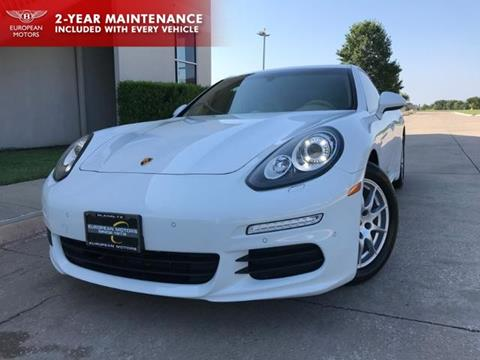2015 Porsche Panamera for sale in Plano, TX