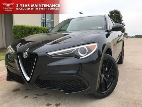 2018 Alfa Romeo Stelvio for sale in Plano, TX