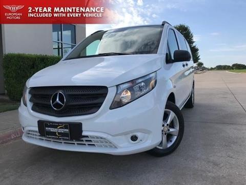 2016 Mercedes-Benz Metris for sale in Plano, TX
